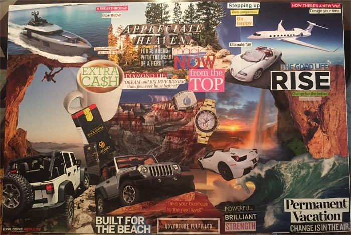 Vision boards, 3D vision boards, goal setting, millionaire mentoring, online marketing