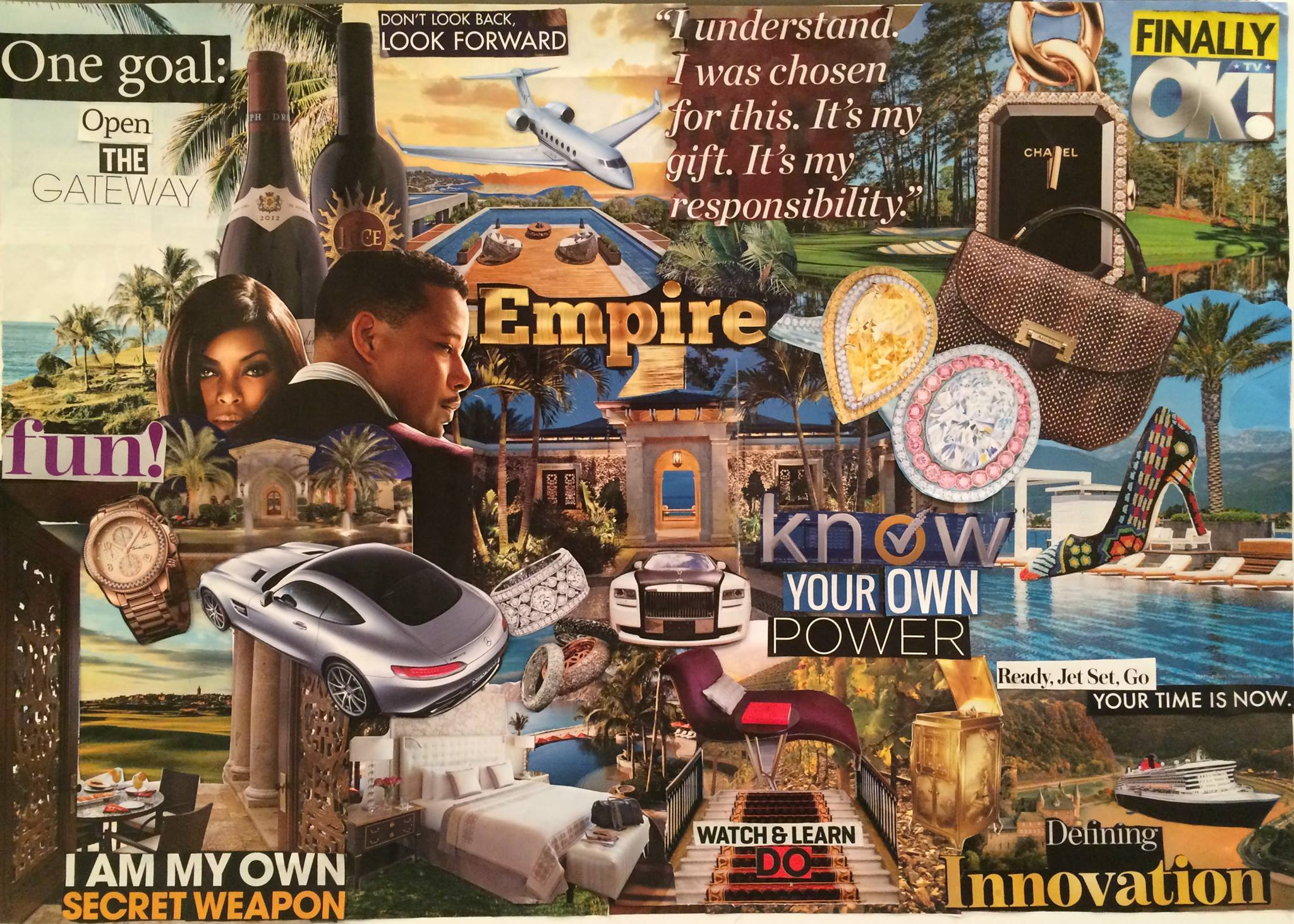 3D vision boards, vision boards, goal setting, manifestation, millionaire mindset, online marketing